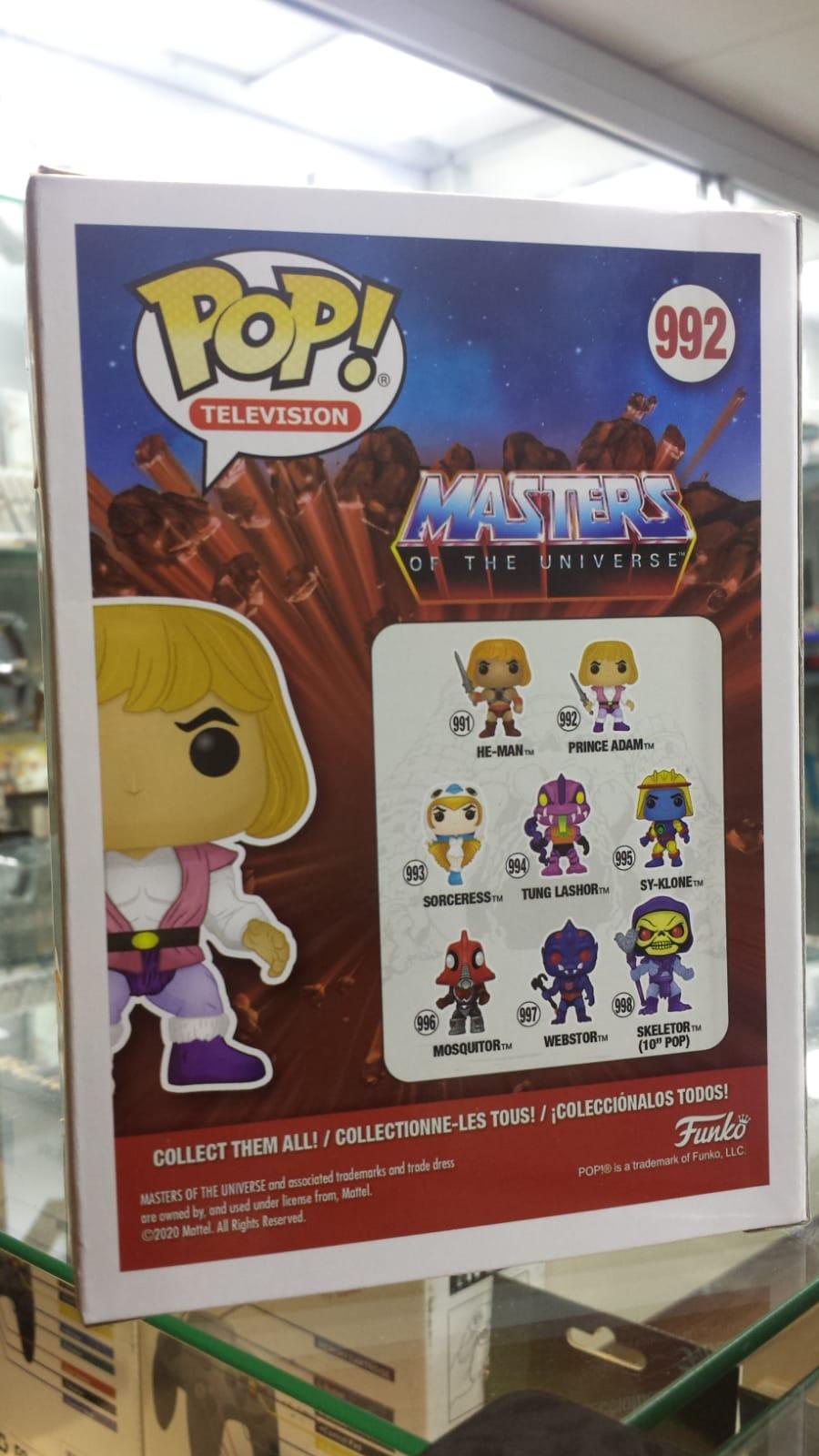 Funko Pop Masters of the Universe Prince Adam