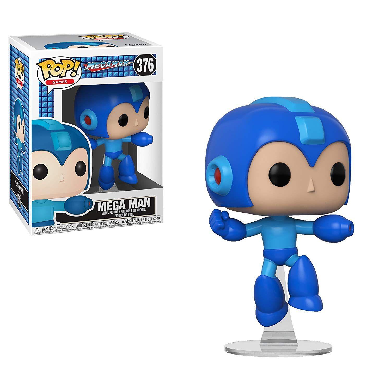 Funko Pop Megaman Bonecos Miniaturas