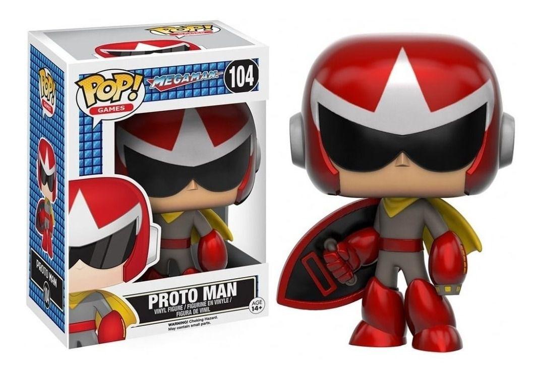 Funko Pop Megaman ProtoMan