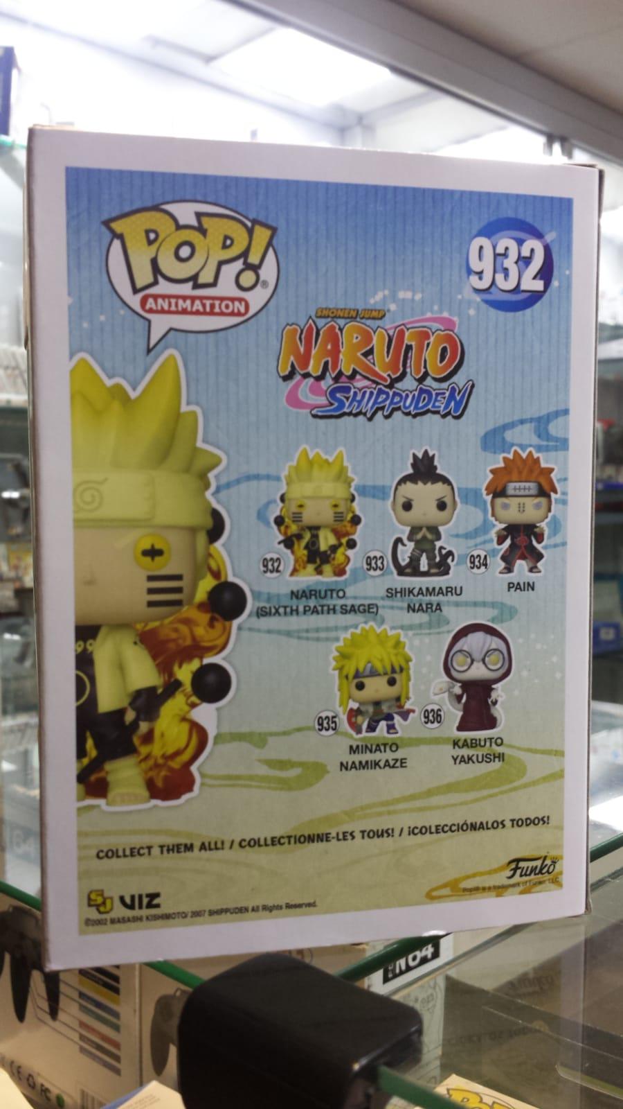 Funko Pop Naruto Shippuden Naruto Sixth Path Sage