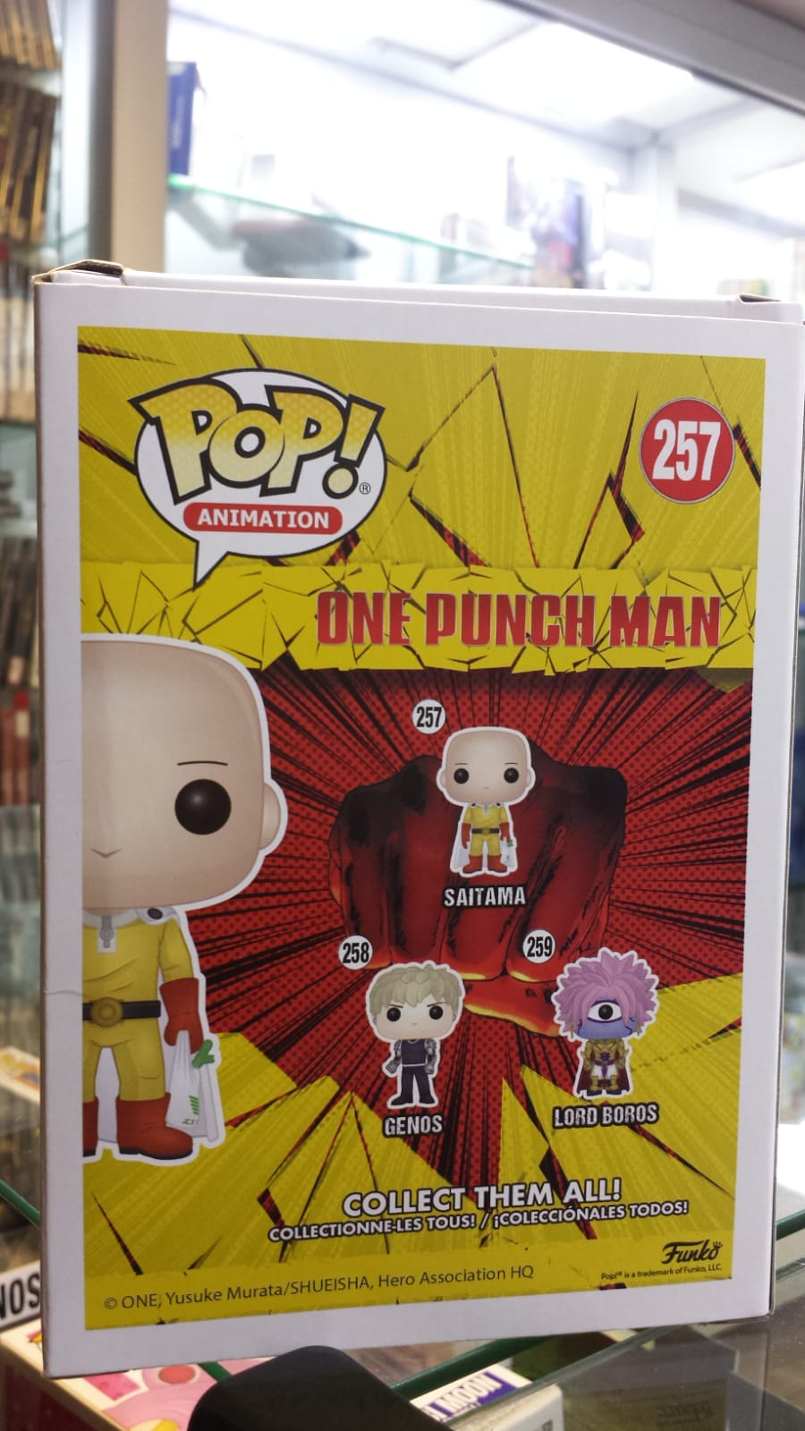 Funko Pop One Punch Man Saitama