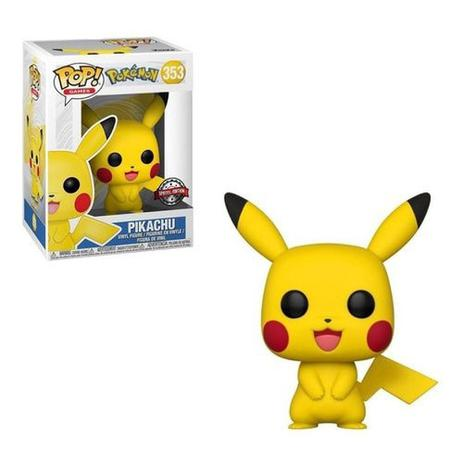 Funko Pop Pokemon Pikachu