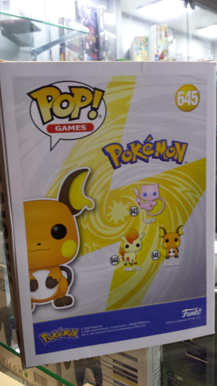Funko Pop Pokemon Raichu