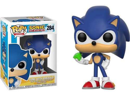 Funko Pop Sonic the Hedgehog Sonic With Emerald