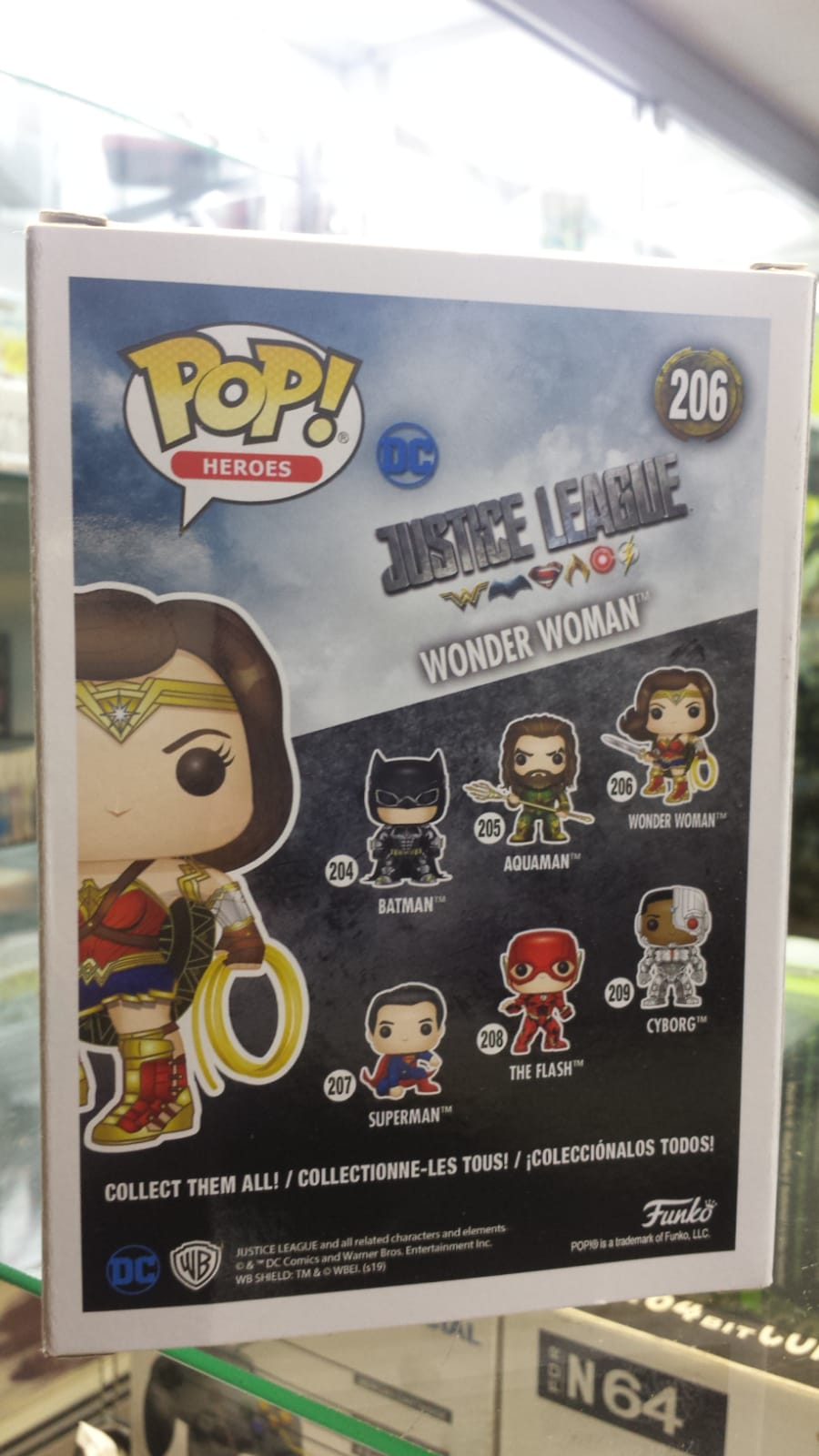 Funko Pop Wonder Woman DC Justice League