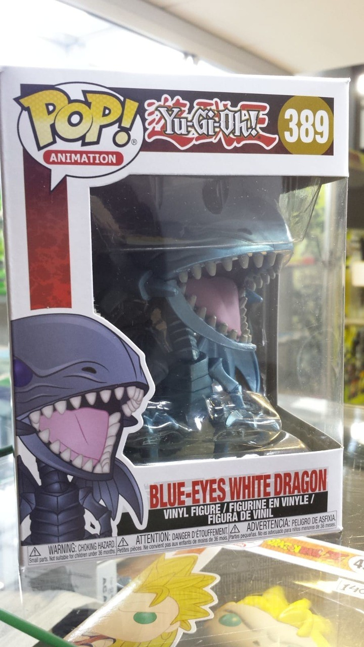 Funko Pop Yu Gi Oh Blue Eyes White Dragon