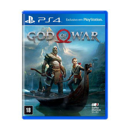 God Of War Jogo Ps4 Playstation 4 Lacrado Mídia Física