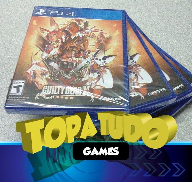 Guilty Gear Xrd Midia Fisica Ps4 Lacrado Playstation 4