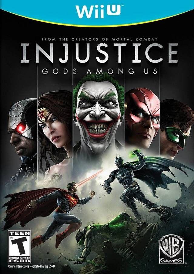 Injustice: Gods Among Us Wii U Novo Loja Bh
