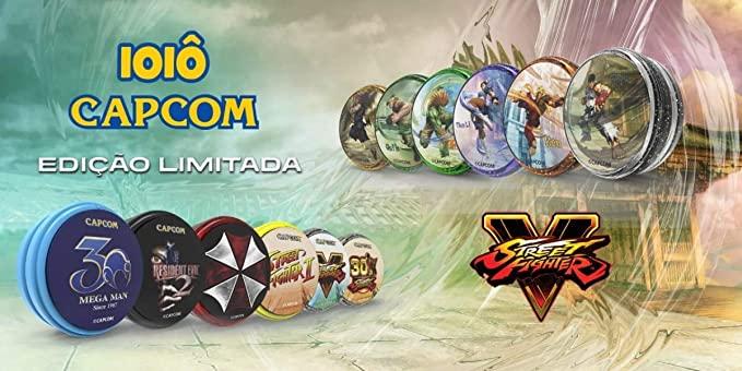 Ioiô Profissional Lata Premium Capcom Street Fighter V