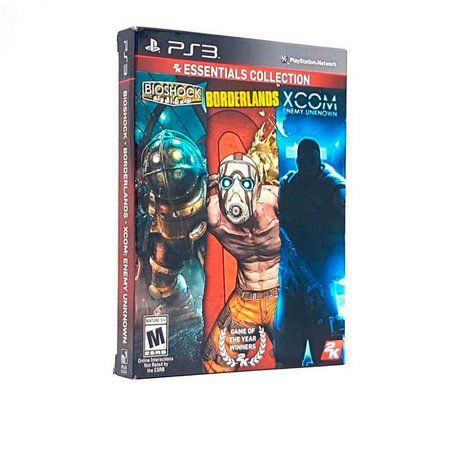 Jogo 2K Essentials Collection bioshock borderlands xcom semi novo Ps3