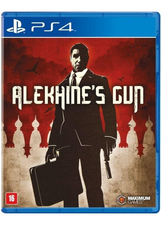 Jogo Alekhines Gun Ps4 semi novo
