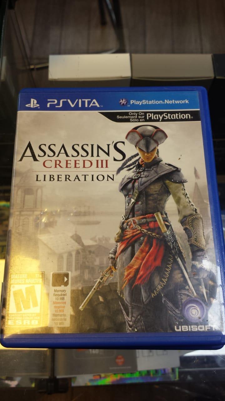 Jogo Assassins Creed 3 Liberation para Psvita