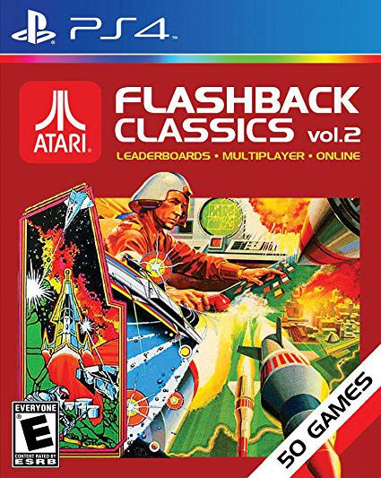 Jogo Atari FlashBack Classics Vol.2 semi novo PS4