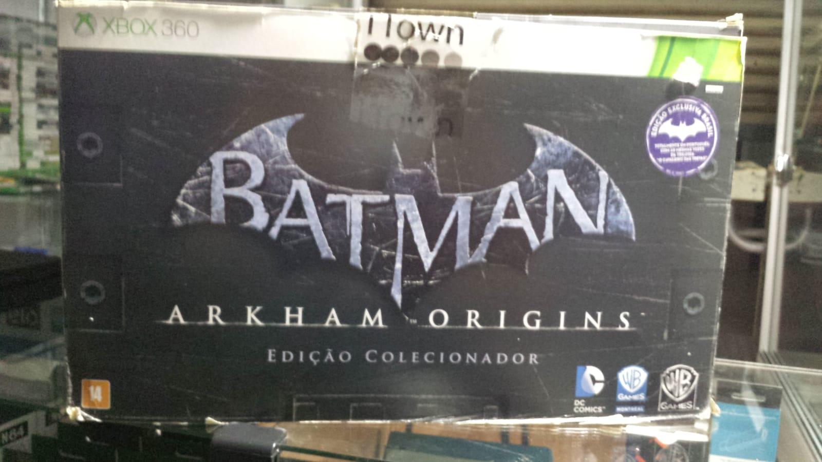 Jogo Batman Arkham Origins Edição de Colecionador Xbox 360