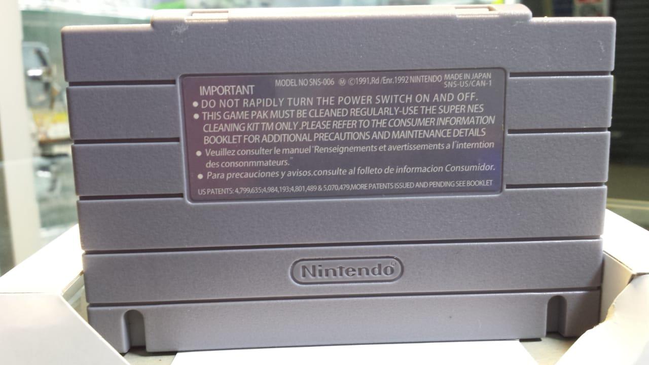Jogo Chrono Trigger Super Nintendo Novo