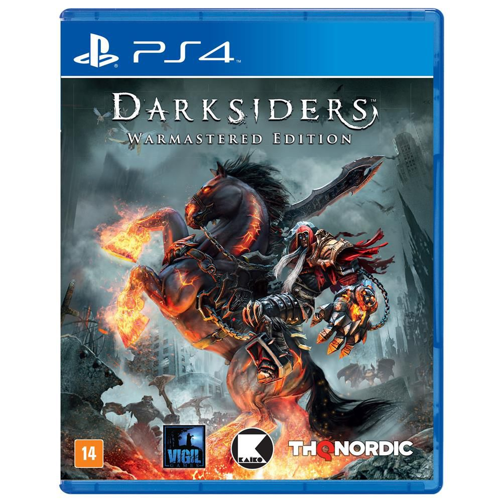 Jogo Darksiders Warmastered Edition PS4 Semino