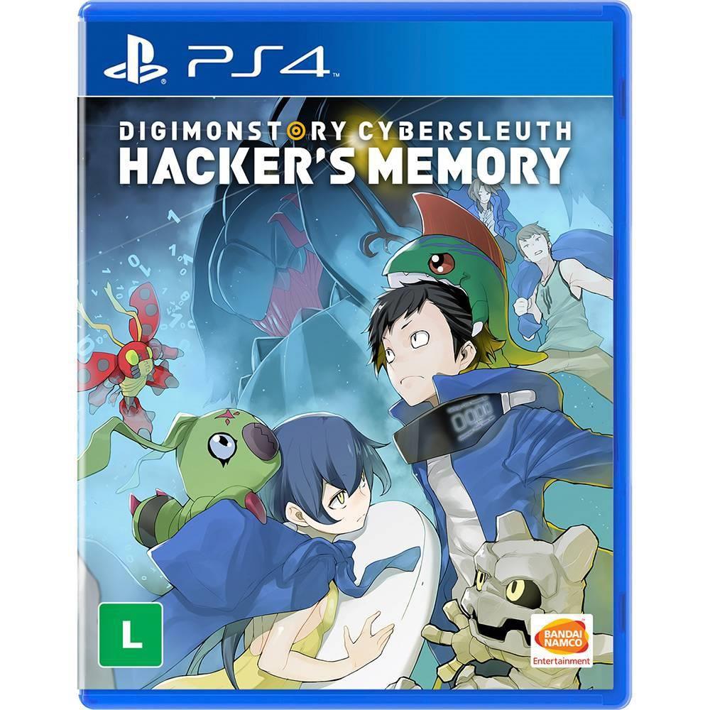 Jogo Digimon Story Cyber Sleuth Hackers Memory PS4 Novo Lacrado