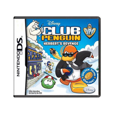 jogo Disney Club Penguin Herberts Revenge DS