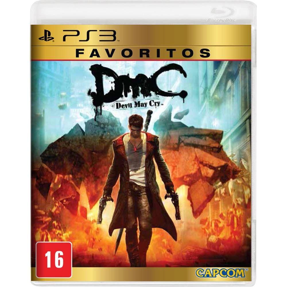 Jogo DMC Devil May Cry semi novo Ps3