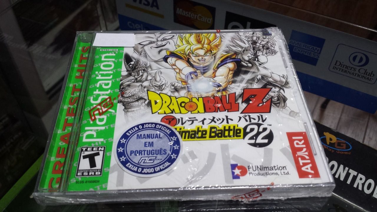 Jogo Dragon Ball Z Ultimate Battle 22 para Playstation novo Lacrado Original