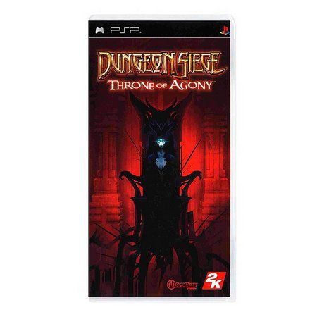 Jogo Dungeon Siege Throne of Agony novo Lacrado PSP