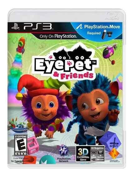 Jogo Eye Pet & Friends semi novo Ps3