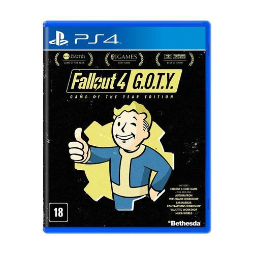 Jogo Fallout 4 G O T Y PS4 Seminovo