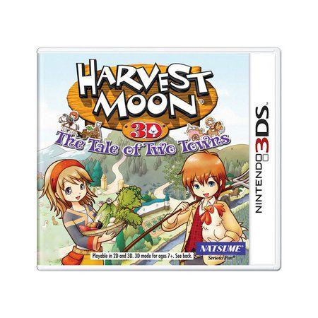 Jogo Harvest Moon 3d The  Tale of Twe Tewns Novo Lacrado