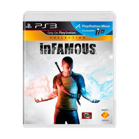 Jogo Infamous Collection semi novo Ps3