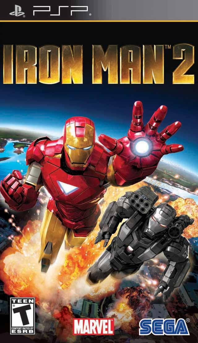 Jogo Iron Man 2 semi novo PSP