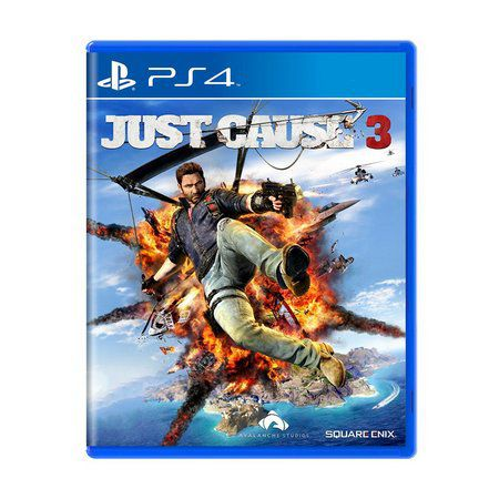 Jogo Just Cause 3 semi novo Ps4