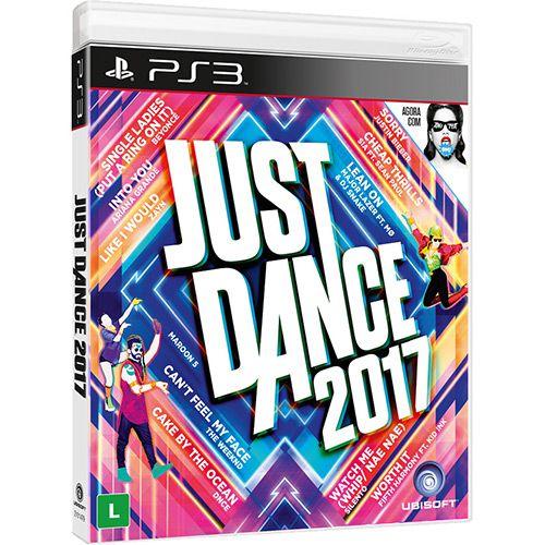 Jogo Just Dance 2017 semi novo Ps3
