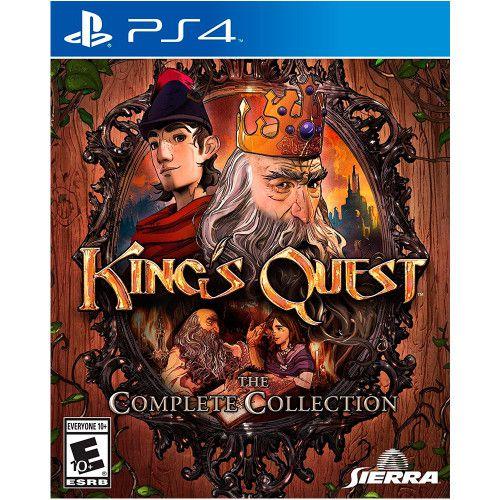 Jogo Kings Quest the Complete Collection PS4 Novo Lacrado