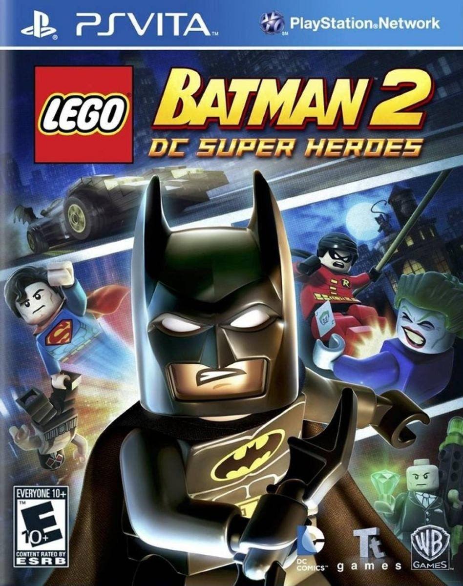 Jogo Lego Batman 2 Dc Super Heroes semi novo Psvita