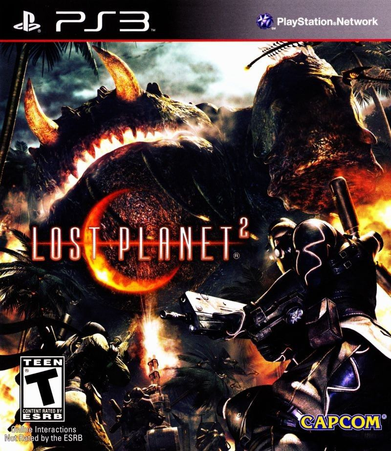 Jogo Lost Planet 2 semi novo Ps3