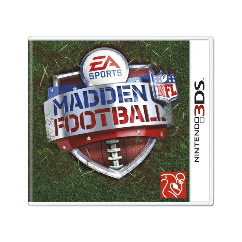 Jogo Madden Football NFL 3Ds Seminovo