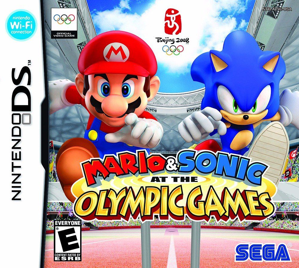 jogo Mario & Sonic at the Olympic Games DS