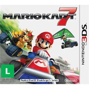 Jogo Mario Kart 7 semi novo 3ds