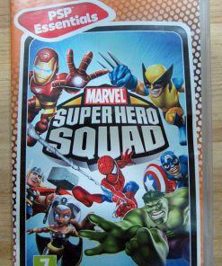 Jogo Marvel Super Hero Squad semi novo PSP