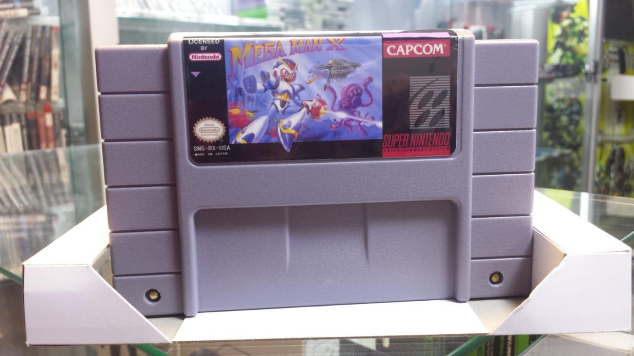 Jogo Mega Man X para Super Nintendo