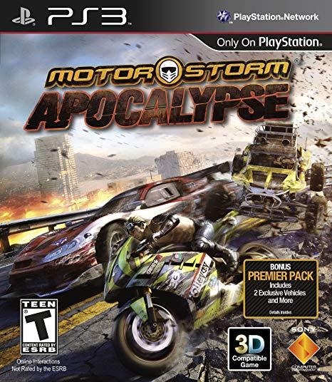 Jogo MotorStorm Apocalypse semi novo Ps3