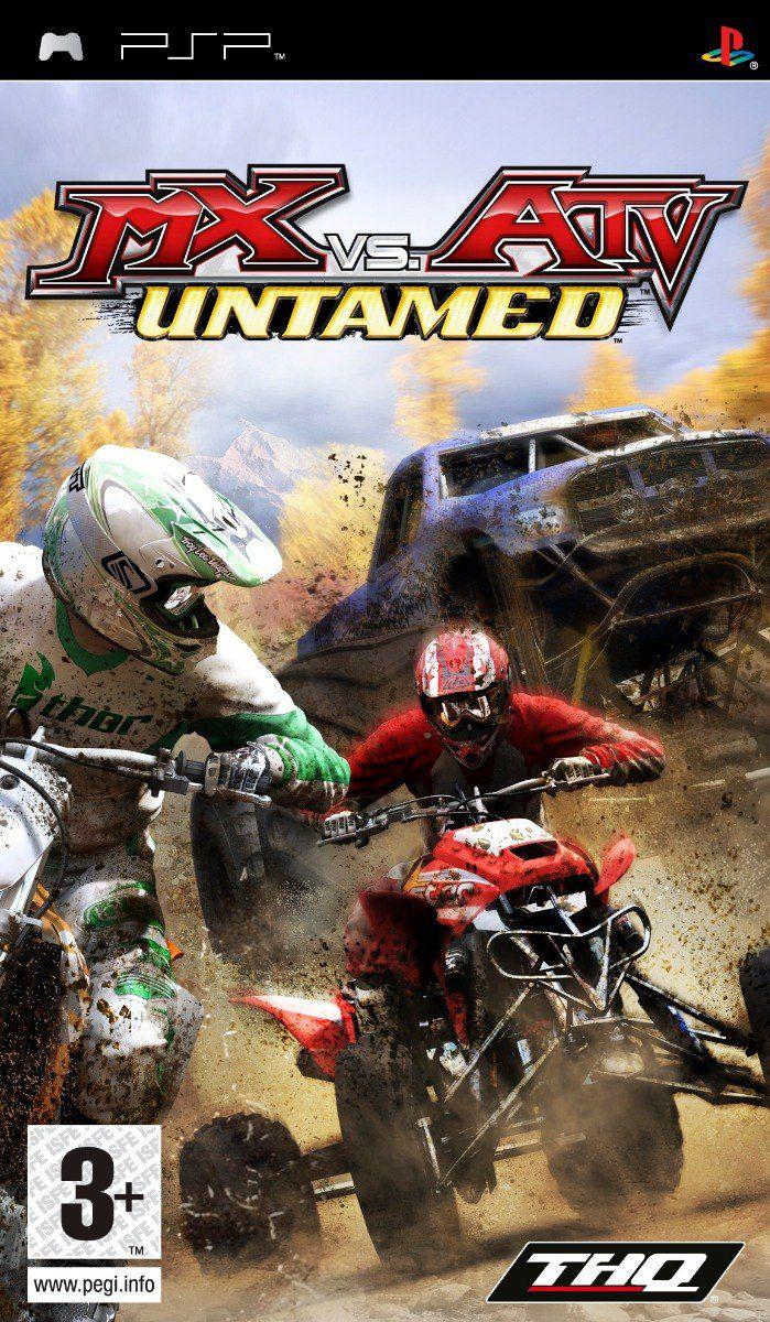 Jogo MX vs ATV Untamed semi novo PSP