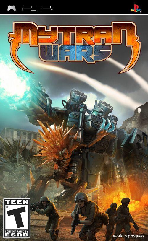 Jogo Mytran Wars semi novo PSP
