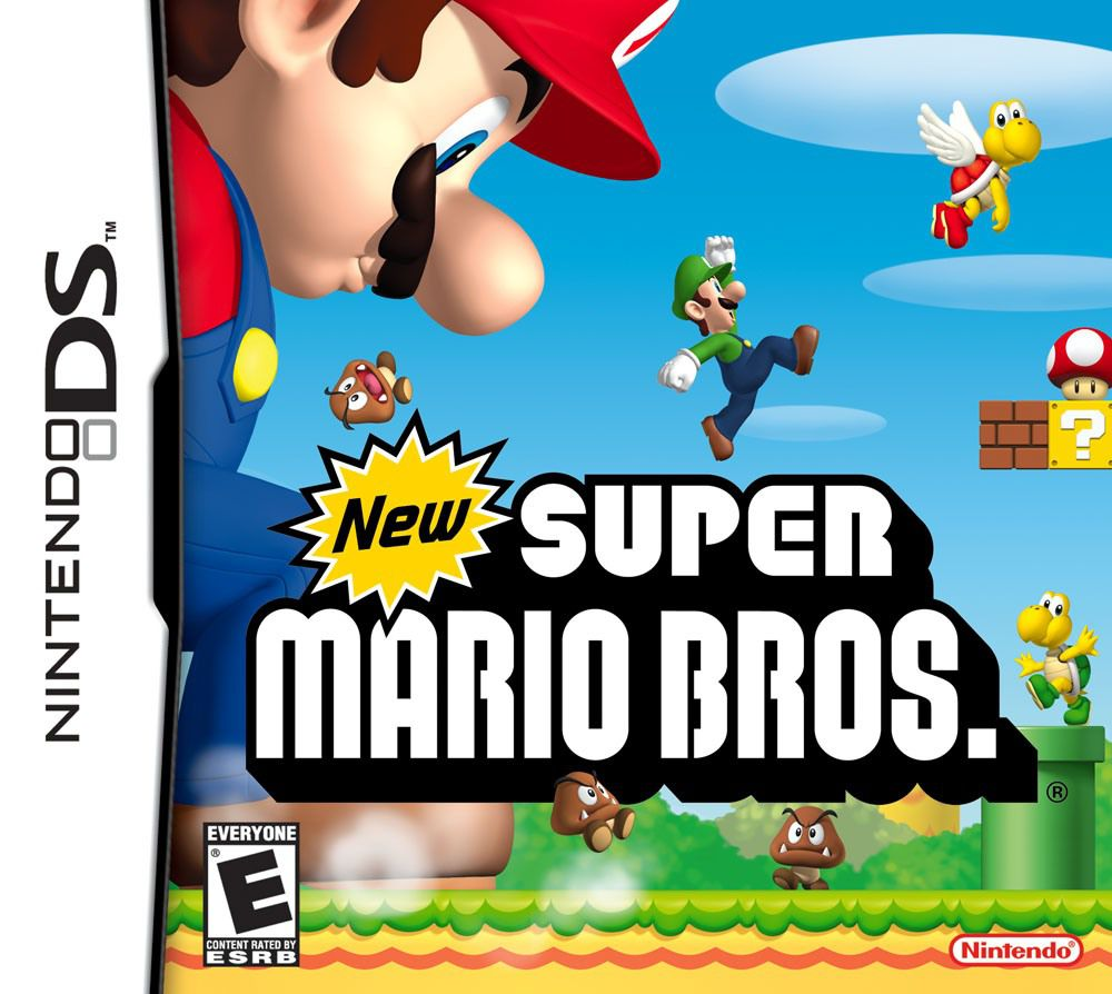 jogo New Super Mario Bros DS