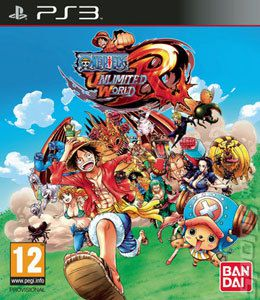 Jogo One Piece Unlimited World Red novo Lacrado Ps3