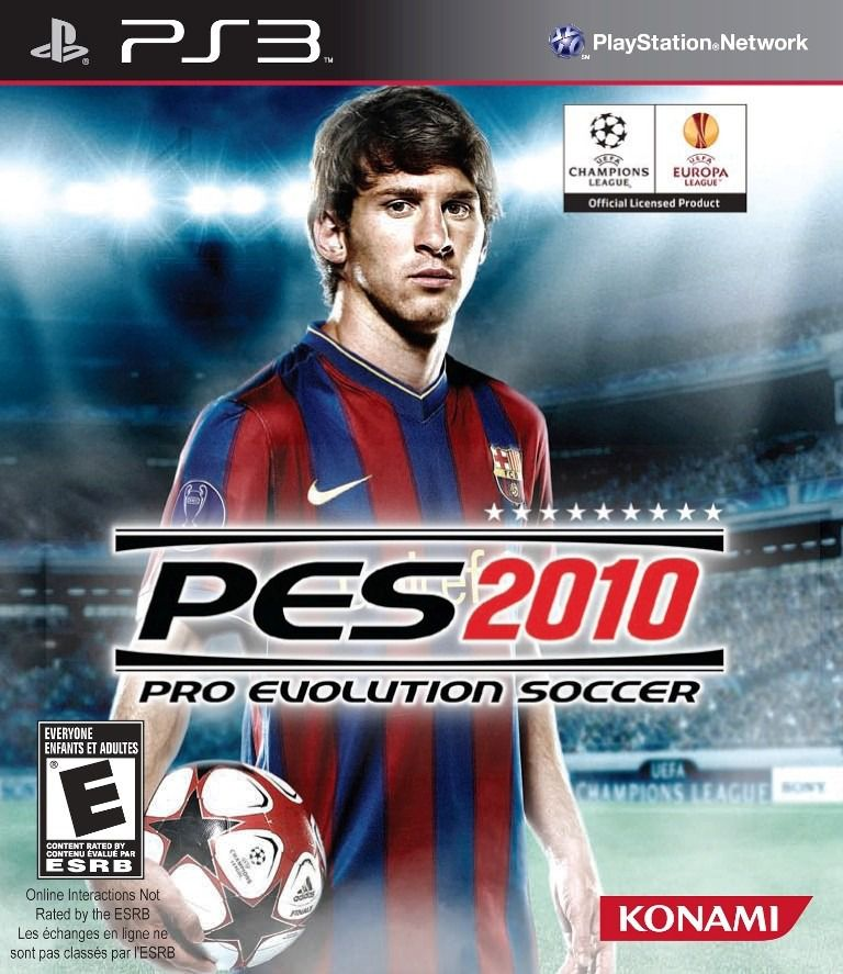 Jogo Pes 2010 Pro Evolution Soccer semi novo Ps3