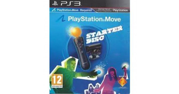 Jogo Playstation Move Starter Disc semi novo Ps3