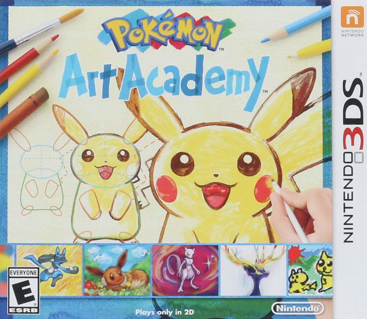 Jogo Pokemon Art Academy Novo Lacrado