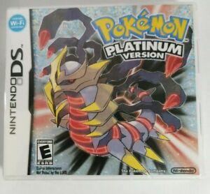 jogo Pokemon Platinum Version  DS